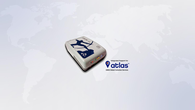 What is Atlas subscription correction service, Arrow 200, GNSS receiver, GPS receiver, centimeter survey grade accuracy