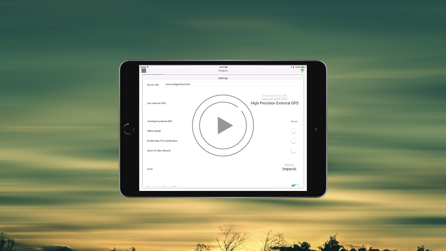 Configuring AmigoCloud with Arrow GNSS GPS GIS data collection video tutorial mobile mapping