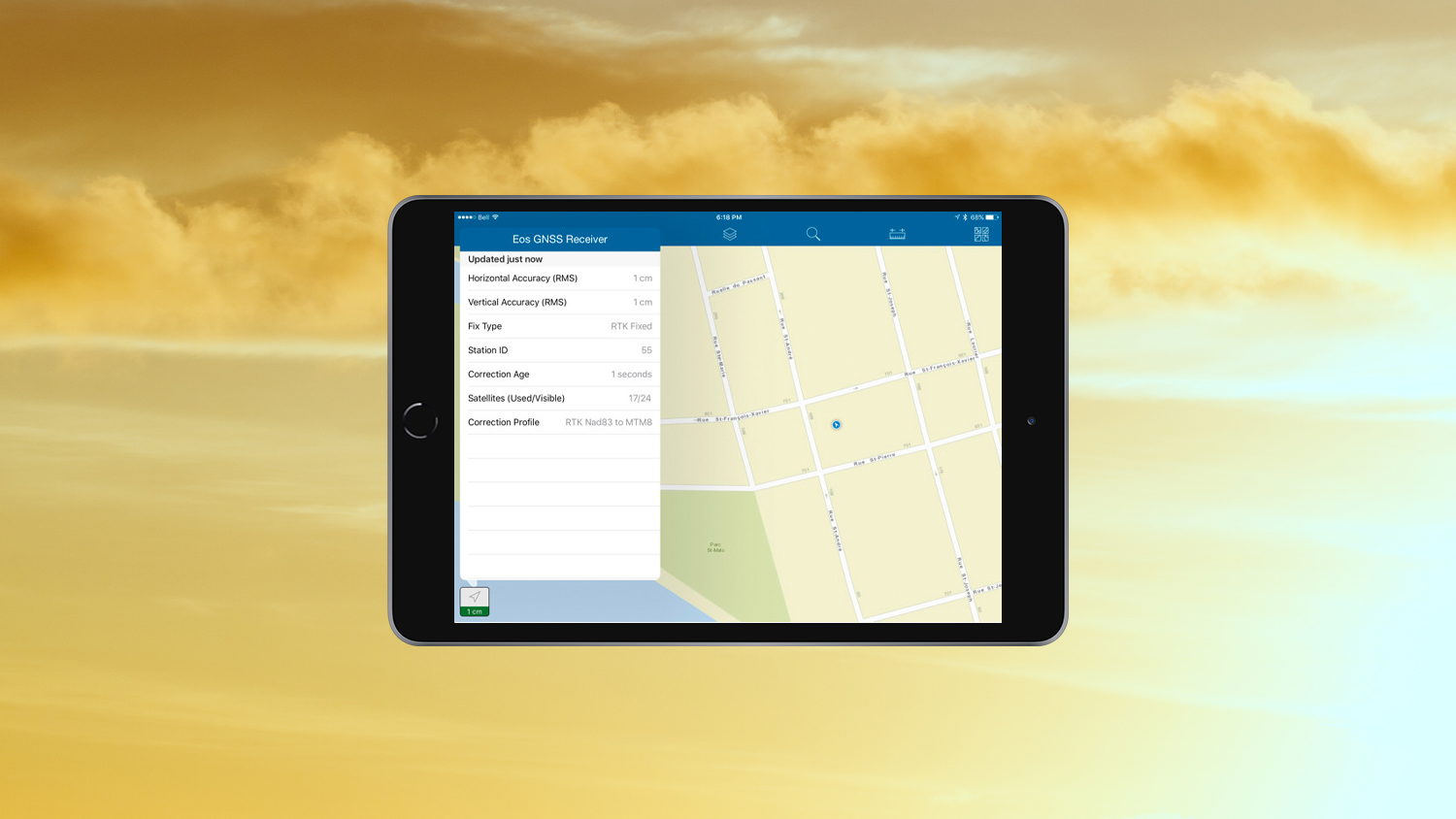 RTK - Want centimeter accuracy on your iPad with Arrow GNSS GPS GIS data collection