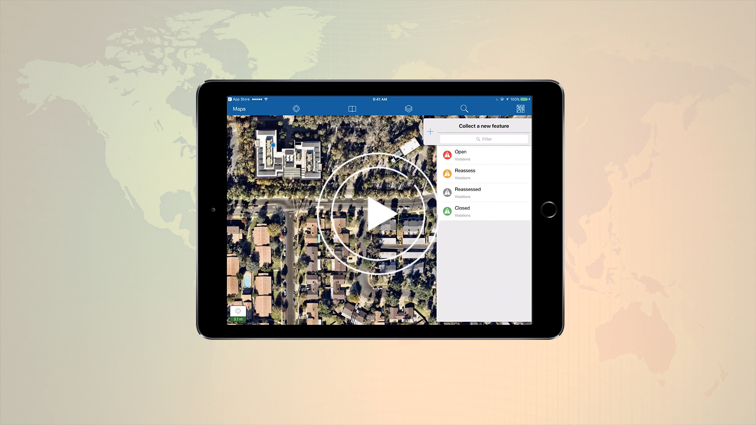 ArcGIS Collector Webinar- Getting started with high-accuracy data collection GPS GNSS GIS Esri video ipad