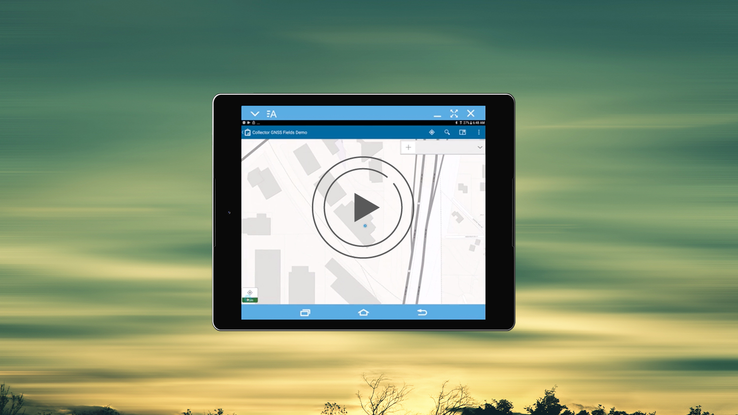 ArcGIS Collector - How to configure Collector on Android with Arrow GNSS GPS GIS Esri video iPad mobile mapping