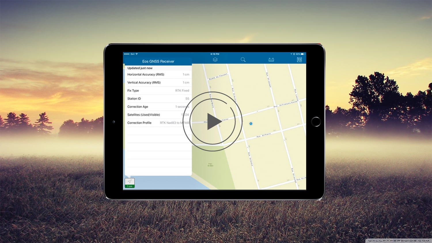 ArcGIS Collector- How to collect Geoid Heights with Arrow GNSS GPS GIS Esri video