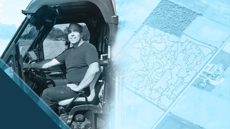 Steve Laevens customer spotlight Eos GNSS Mapping Agriculture Soil Sampling Accuracy