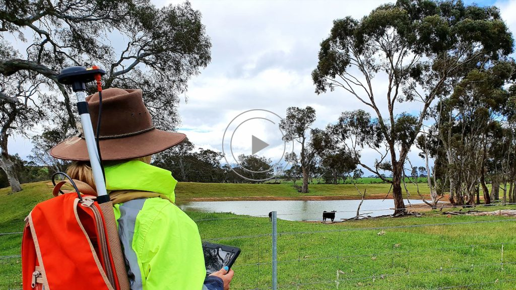 Australian Cultural Heritage Management ACHM Australia SBAS SouthPAN mapping with Eos Arrow 100 GNSS Receiver