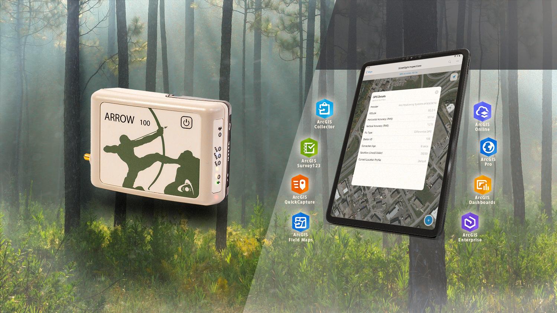 Arrow 100 bundle with Arrow GNSS and Esri ArcGIS Software