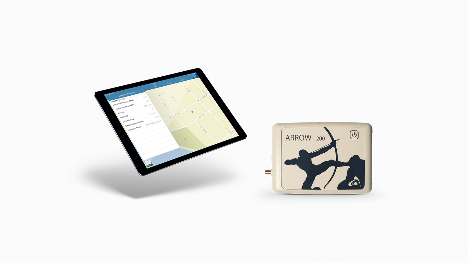 ArcGIS Collector 10.4 supports Arrow high accuracy GNSS receivers submeter centimeter mapping