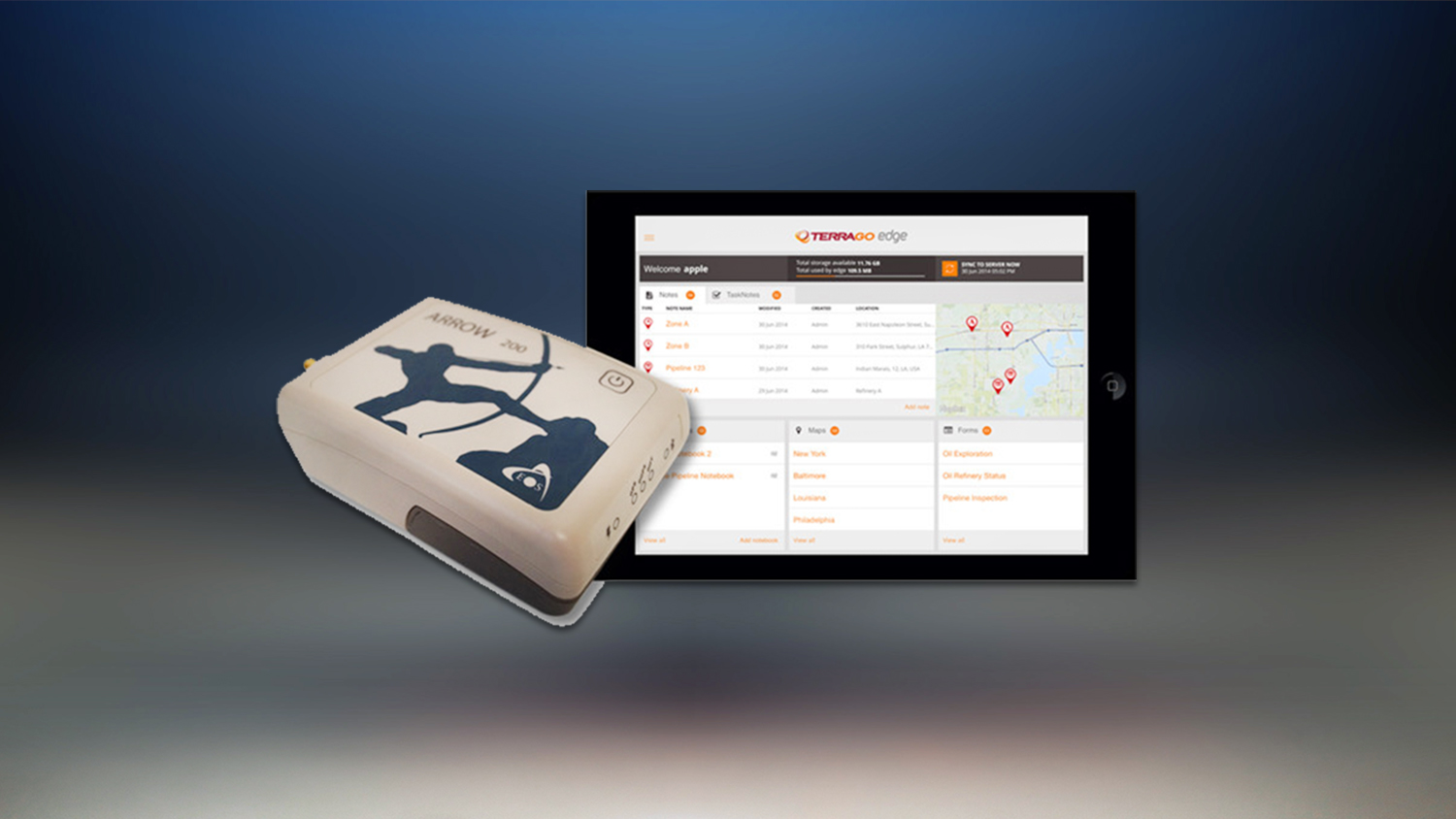 TerraGo Edge Eos Positioning Systems announce partnership GNSS