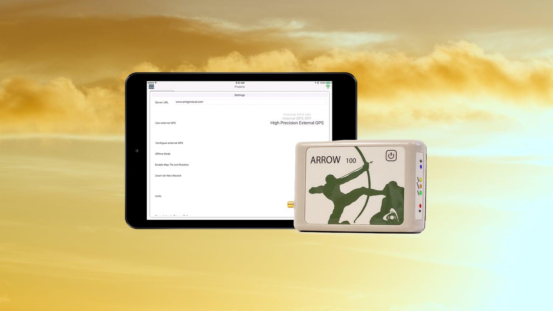 AmigoConnect GPS GIS GNSS Eos Arrow data collection