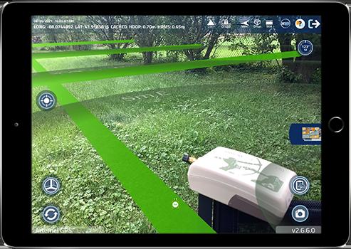 Eos Arrow Partner App Argis Lens Data Collection GPS GIS GNSS