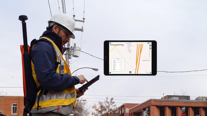 Eos Arrow AmigoCloud AmigoConnect iPad GNSS GPS GIS data collection