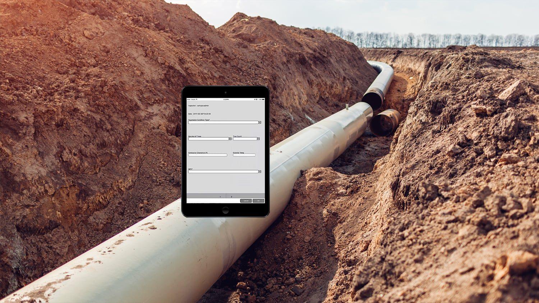 Eos Partner App - Cartopac data collection GPS GIS GNSS gas utilities