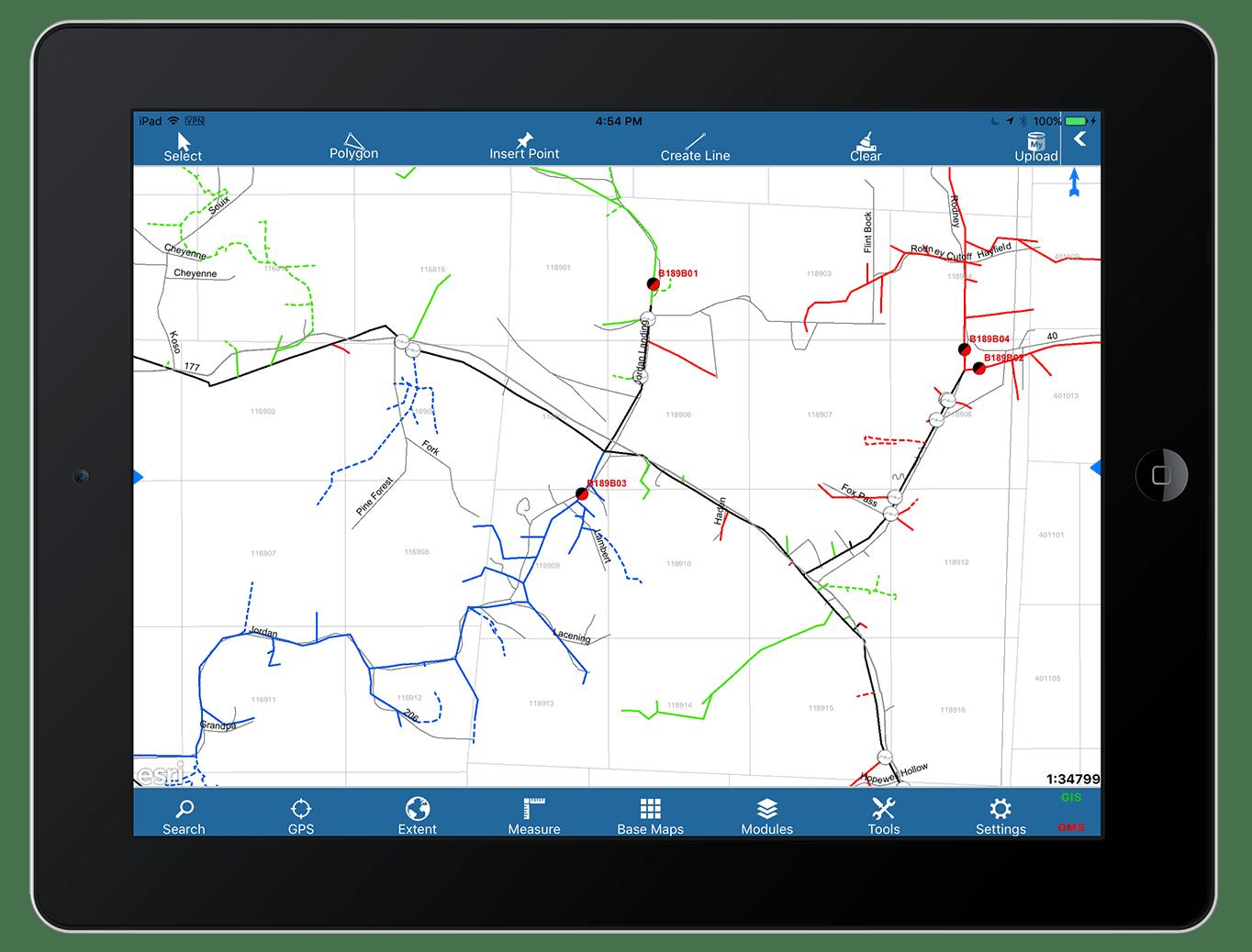 Futura FieldPro Stake GNSS GPS GIS Eos Arrow data collection