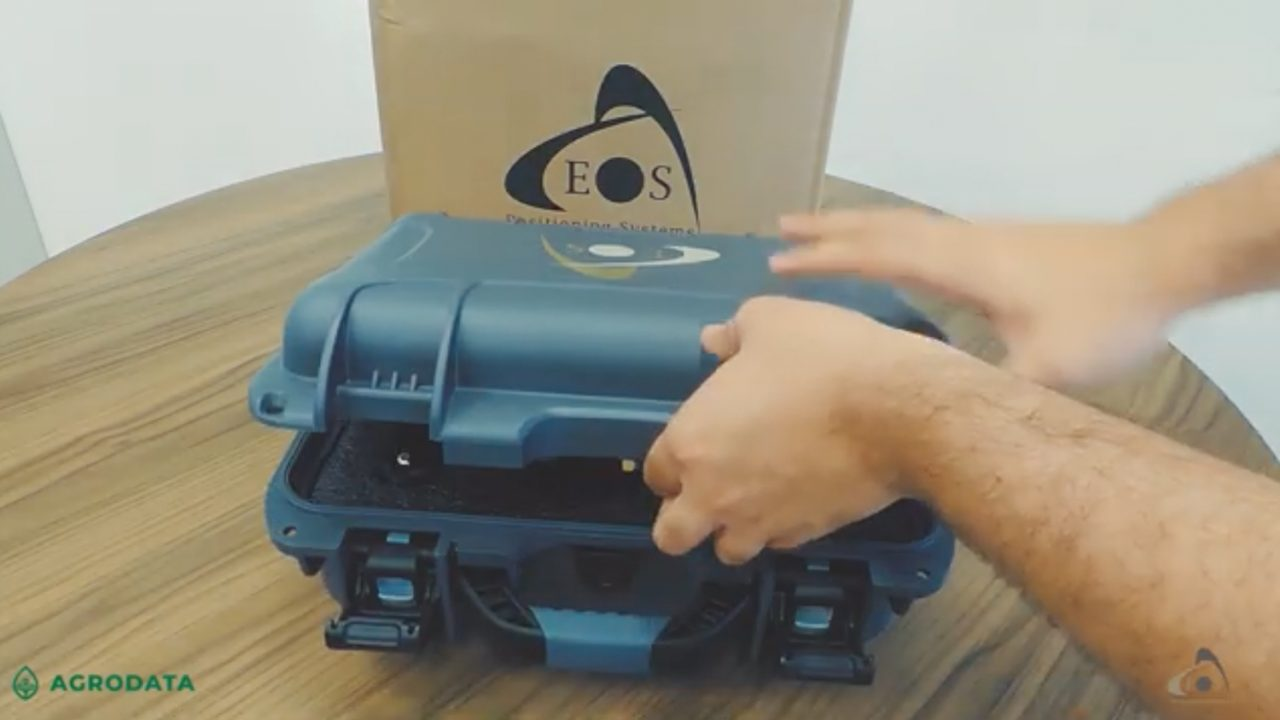 Arrow Gold GNSS Receiver: Unboxing video feature image by Eos Positioning Systems