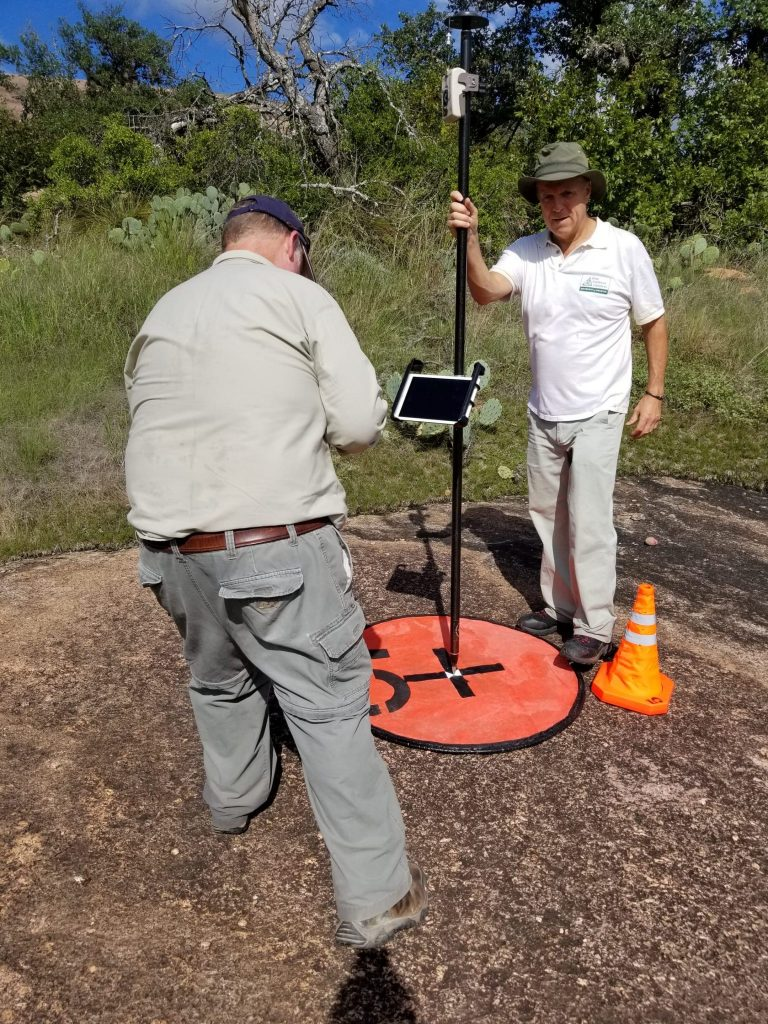 FIELD PHOTO - CASE STUDY - RAPTOR AERIAL SERVICES - enchanted rock; Texas; Arrow Gold; Michael Allison, Robert Stewart, University of Houston; Texas Drone Consultancy Uses Arrow Gold for Ground Control Points (GCP)