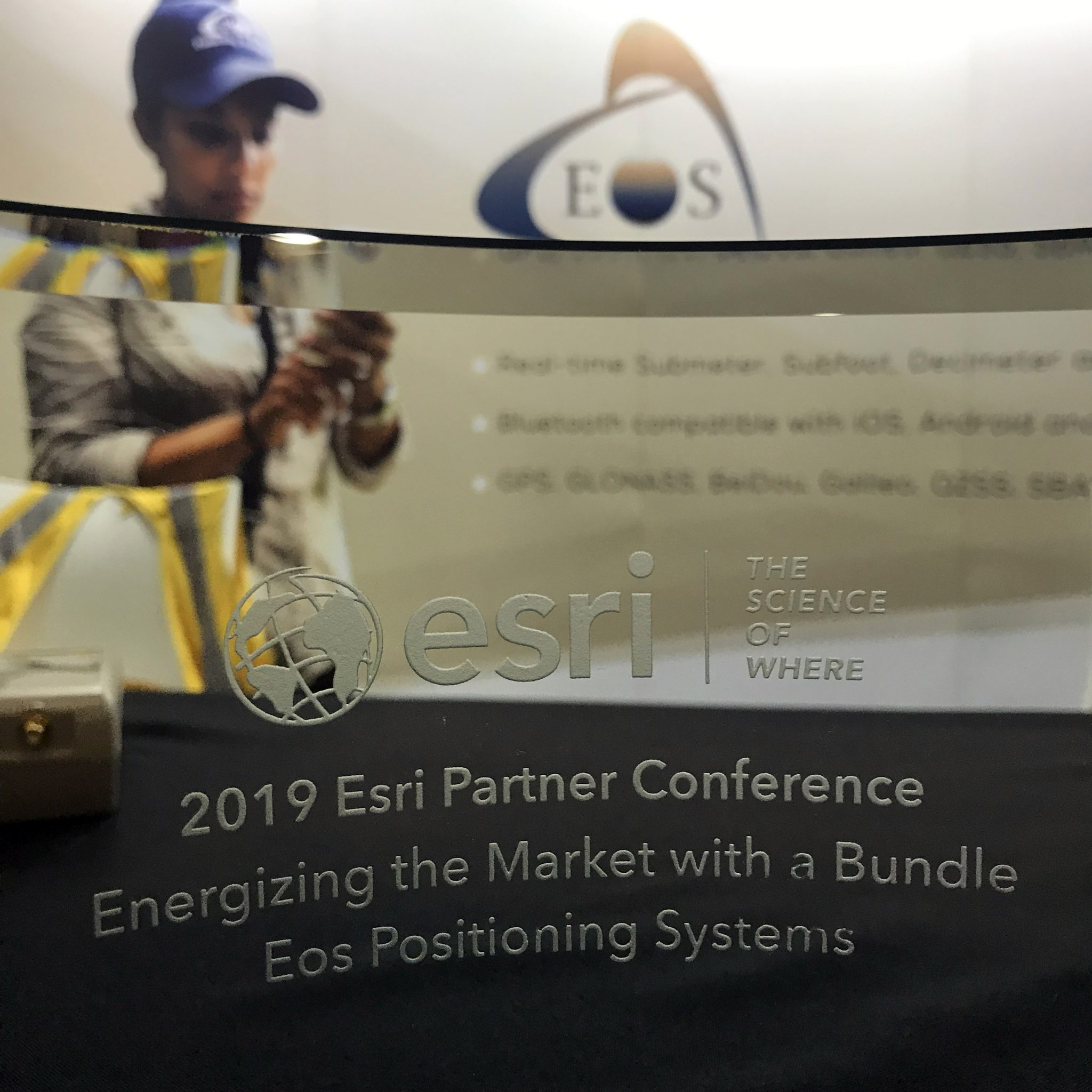 """IMAGE – PRESS RELEASE – 2019 EPC AWARD – Eos Positioning Systems """"Energizing the Market with a Bundle"""" Award 2019-03-04 10.58.16 copy"""