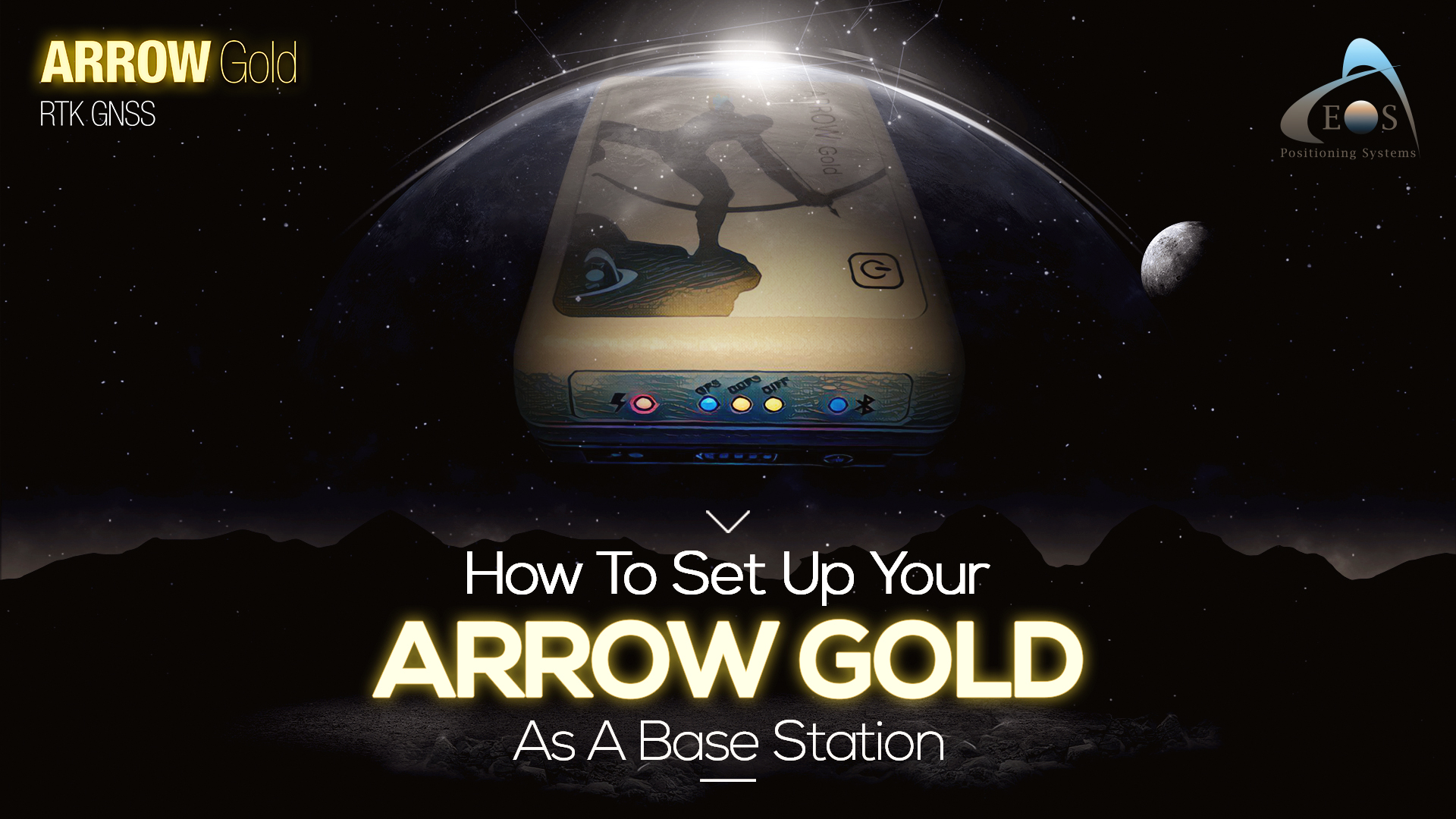 FEATURE IMAGE - ARTICLE - HOW TO SET UP YOUR ARROW GOLD AS A BASE STATION