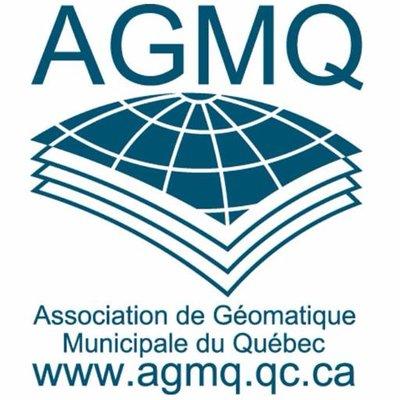 Rendez-vous Géomatique 2018; LOGO - AGMQ ASSOCIATION DE GEOMATIQUE MUNICIPALE DU QUEBEC