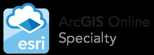 LOGO - ESRI ARCGIS ONLINE SPECIALTY