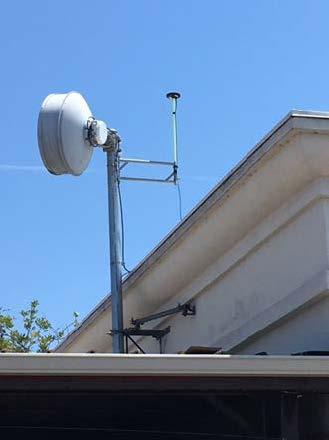 City of Santa Barbara - Arrow Gold Base Station on roof