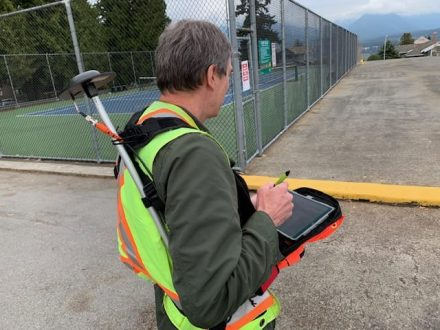 Using iPads, vests, and chest packs, the field workers quickly mapped all new signs within just two weeks of installment.