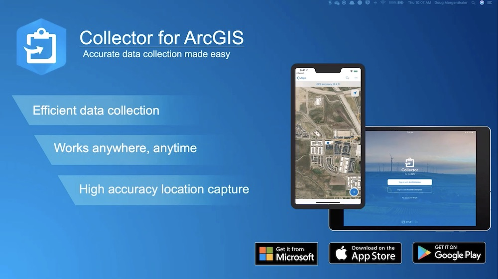 Collector for ArcGIS app