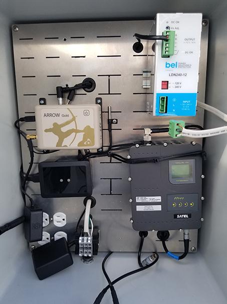 Customer Spotlight Chris Kahn 7 - Inside of Arrow Gold _ UHF Radio Base Station