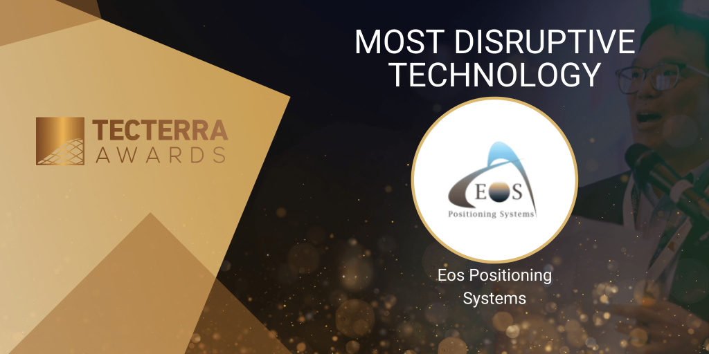 Eos Positioning - Tecterra award 2020