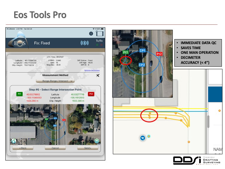 Eos Tools Pro - DDSI laser mapping