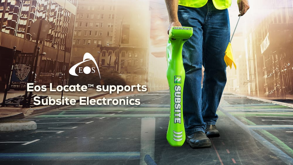 Eos Locate™ for ArcGIS Field Maps, Collector, Eos Tools Pro, underground utility mapping buried assets GPS GIS GNSS mapping