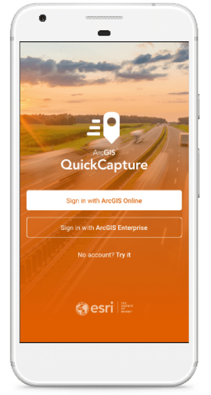ArcGIS QuickCapture GNSS Receiver: ArcGIS QuickCapture includes support for external, high-accuracy GNSS receivers. The Arrow GNSS receivers from Esri Silver Partner Eos Positioning Systems are supported on iOS, Android and Windows versions of the app.