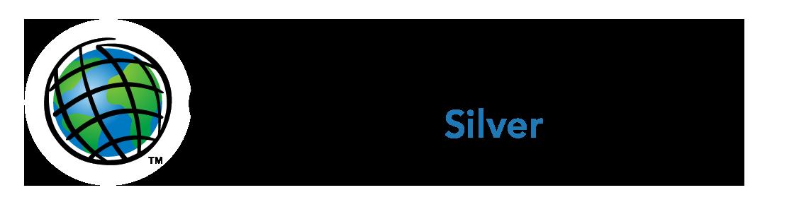 LOGO - ESRI silver partner network - horizontal