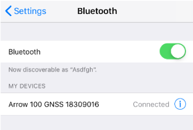 How to Connect Arrow on iOS Devices (iPad, iPhone) screenshot