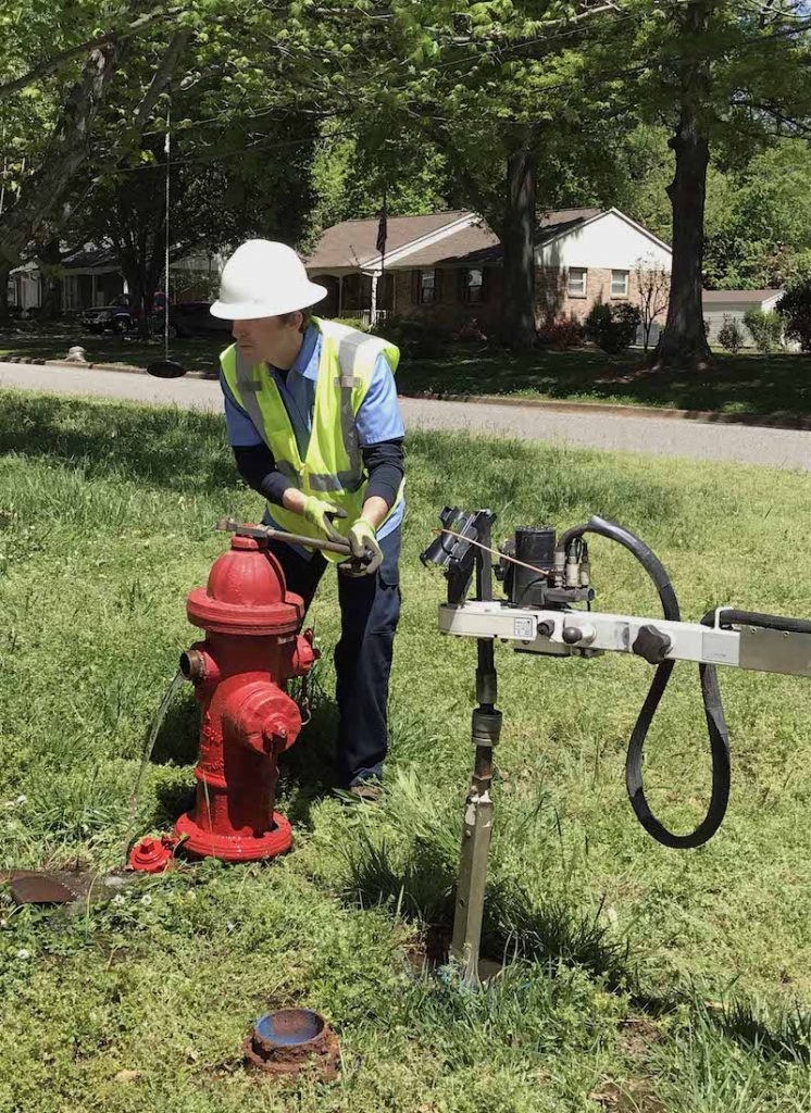 FIELD PHOTO - CASE STUDY - CITY OF GASTONIA TRU - hydrant