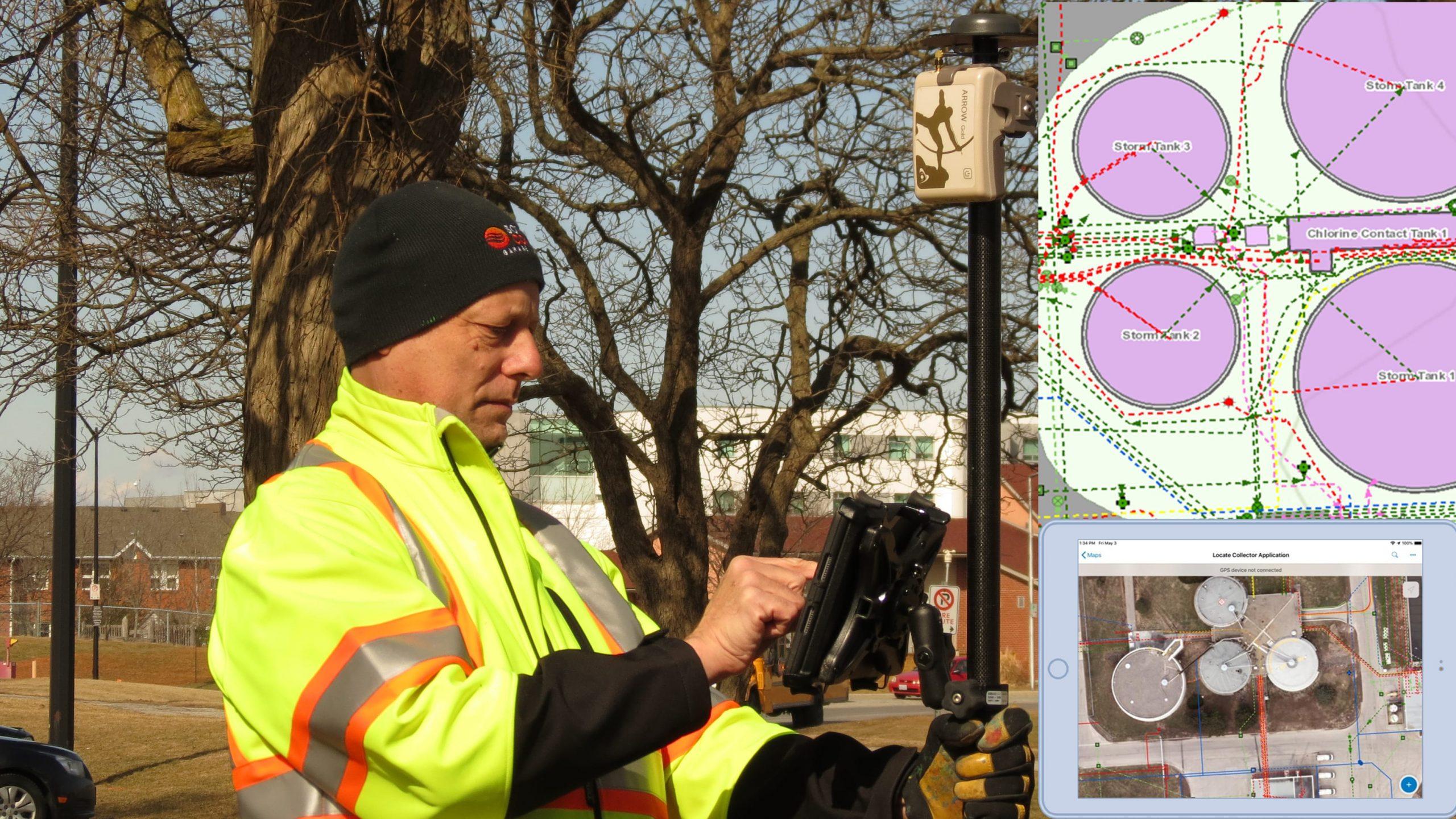 2020 Esri UC - Niagara Region Collector locates composite