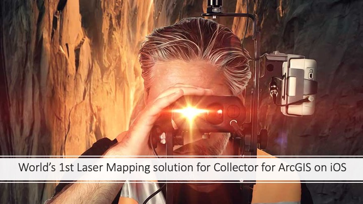 RTK Laser Mapping for ArcGIS Collector