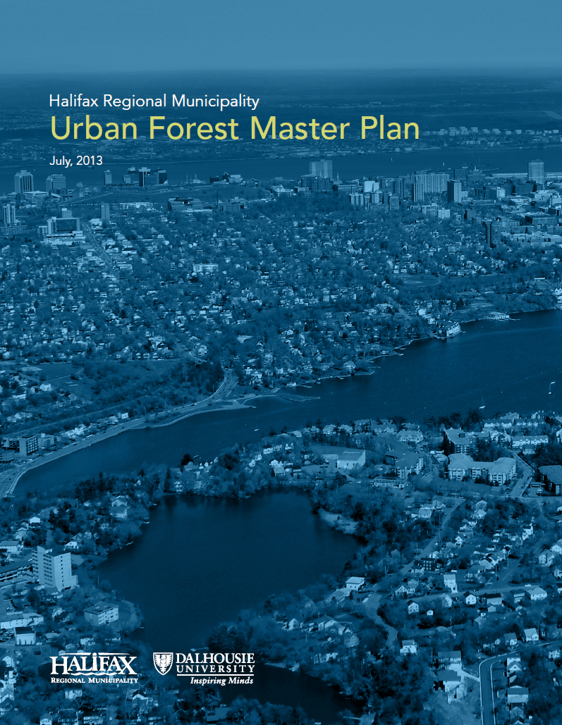 Areas covered within the Urban Forest Master Plan