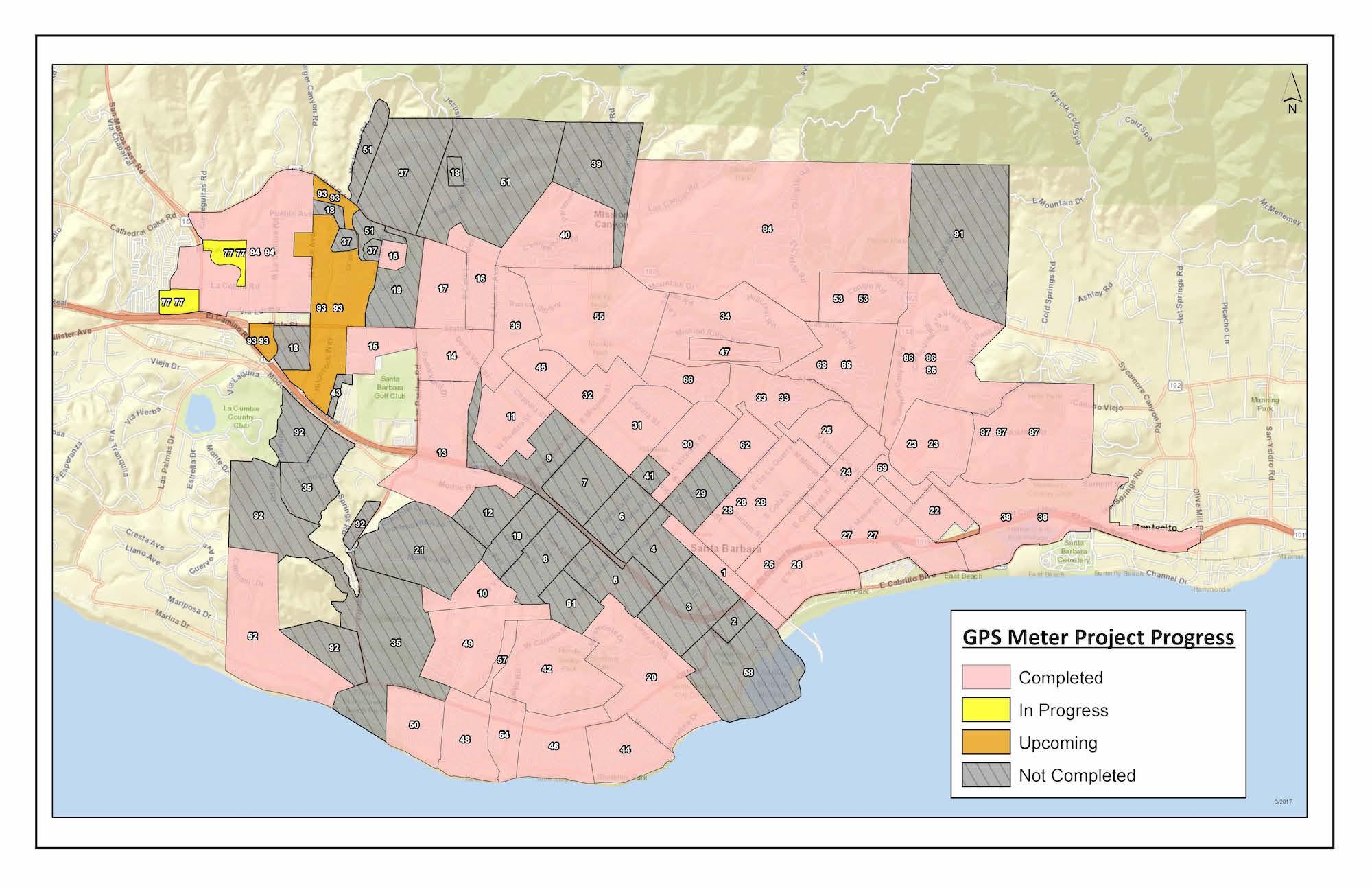 City of Santa Barbara - Updated Meter Map