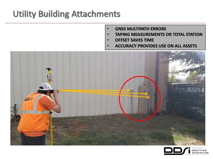 Utility Building attachments - DDSI laser mapping