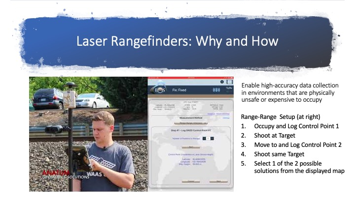 Why use laser rangefinders for mapping