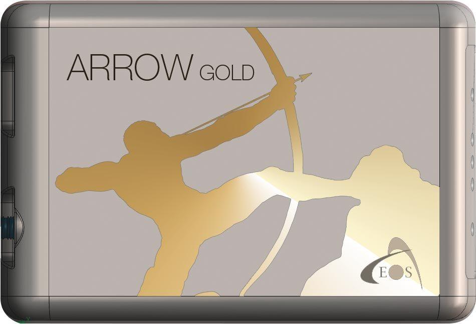 Arrow Gold RTK GNSS receiver front shot
