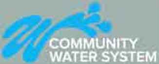 LOGO - COMMUNITY WATER SYSTEM