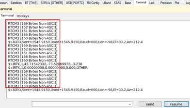 SCREENSHOT - ARTICLE - HOW TO SET UP ARROW GOLD AS BASE STATION by Eos Positioning Systems