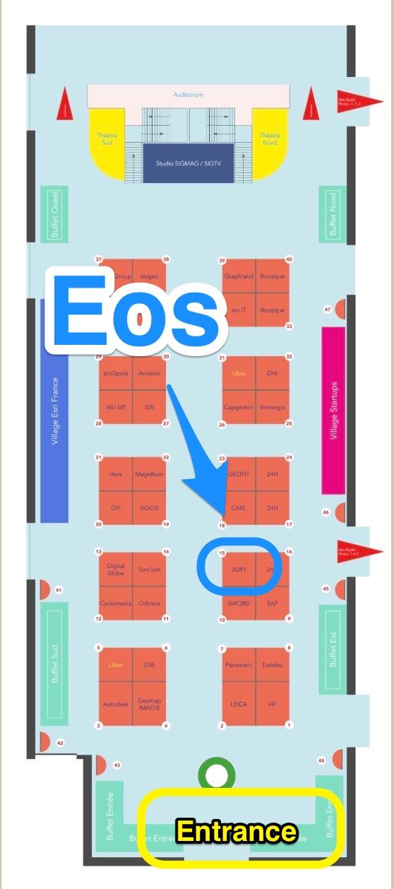 Floorplan - 2018 Esri France SIG