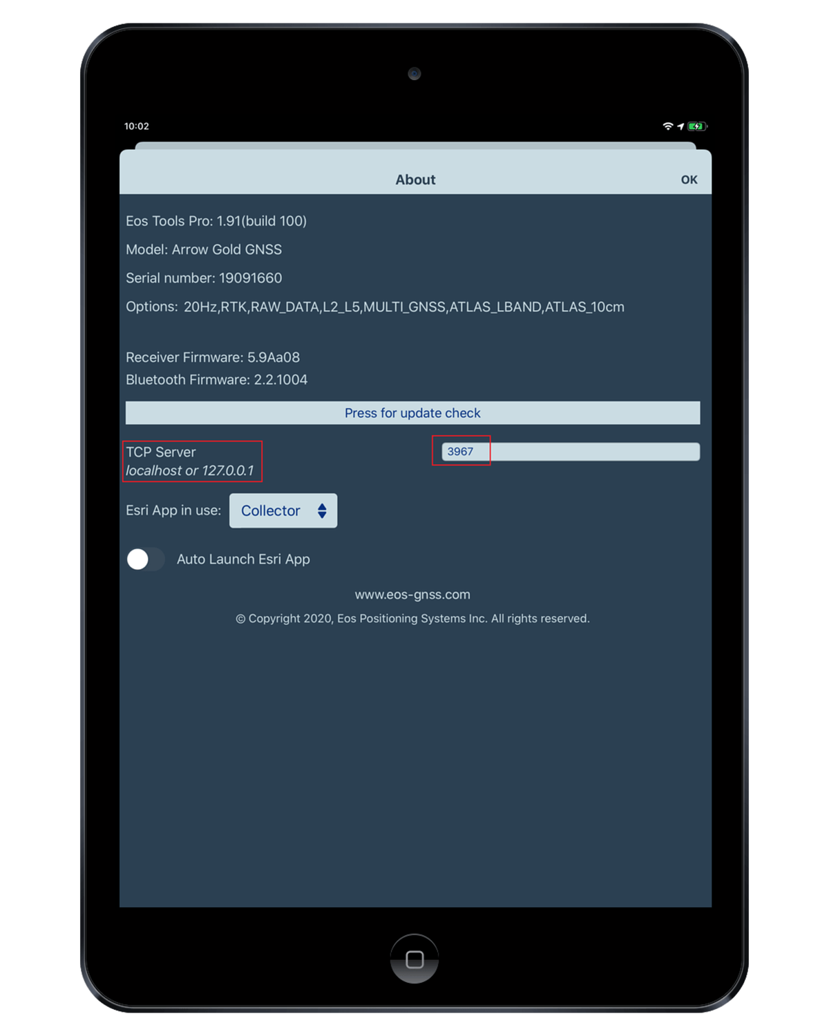 iPad TCP IP Multiple Apps Concurrently with Arrow 3 - localhost