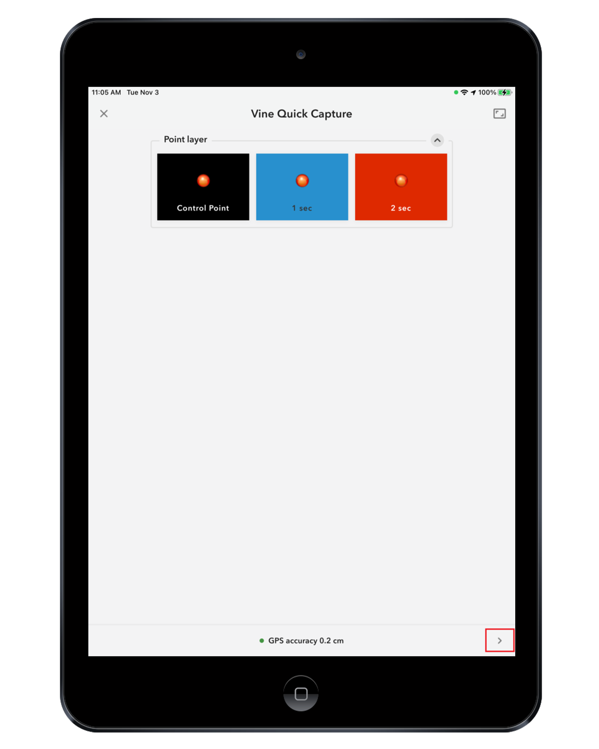 iPad TCP IP Multiple Apps Concurrently with Arrow 9 - QuickCapture 1