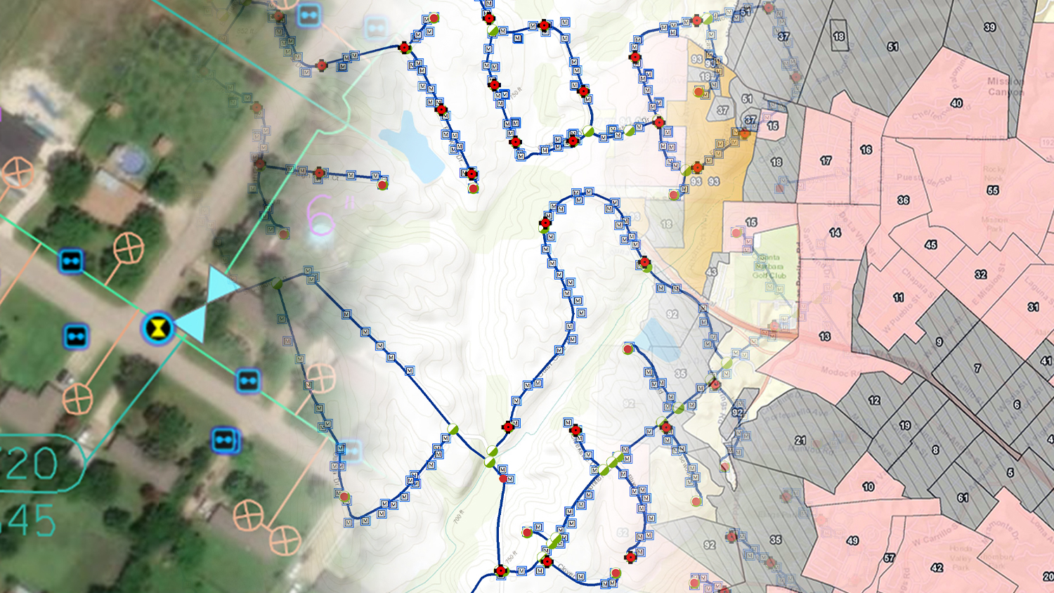 5 Ways Water Utilities are Transforming Data Collection GPS GIS GNSS Esri ArcGIS Field Maps, ArcGIS Collector, Eos Tools Pro, Arrow
