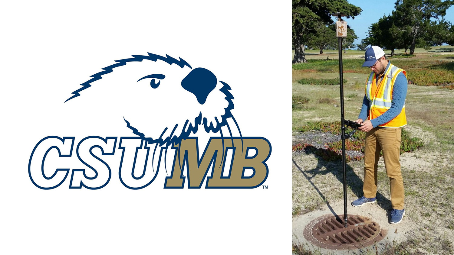 CSU Monterey Bay Feature Image Campus mapping GIS Arrow