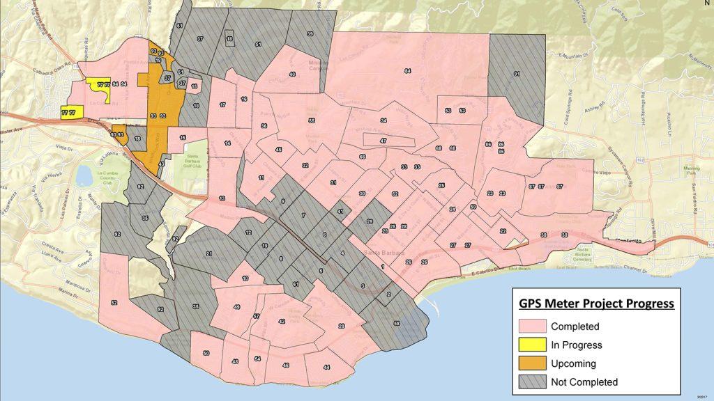 City of Santa Barbara Arrow Gold base station