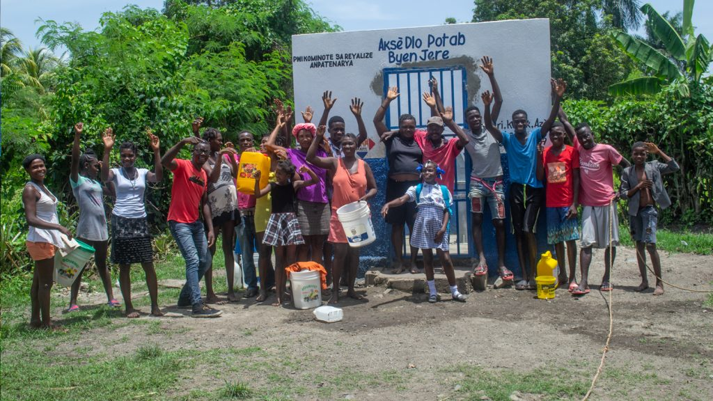 Haiti Outreach is tackling a major water problem thanks to mapping and modeling technology, including mWater, EPANET and Arrow Gold with Atlas