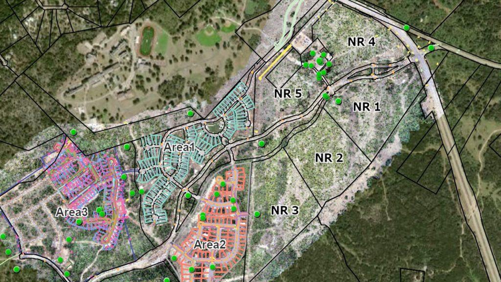 LaCima web map ArcGIS Online construction GNSS UAV Drone management